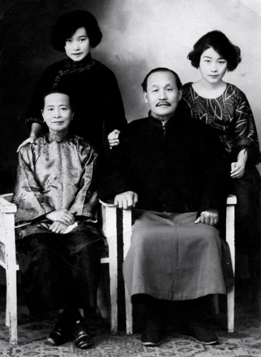 Rose, my maternal grandmother, right Shanghai 190os